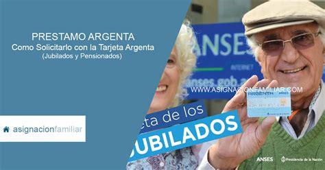 tarjeta argenta 2016 solicitar pr 233 stamos con la tarjeta argenta info anses