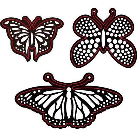 Dies Butterfly B 25 best die cuts images on