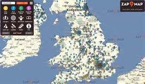 Electric Vehicle Charging Stations Map Usa Looking For Ev Charging Stations In The Uk Zap Map Has
