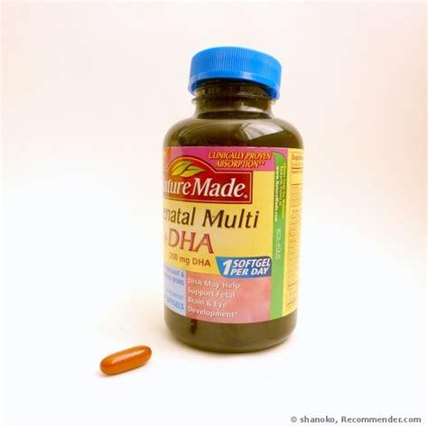 Vitamin Dha Nature Made Prenatal Multi Dha 200mg Vitamin