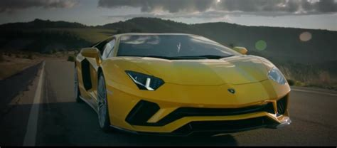 Lamborghini Aventador Trailer 2017 Lamborghini Aventador S Commercial Trailer