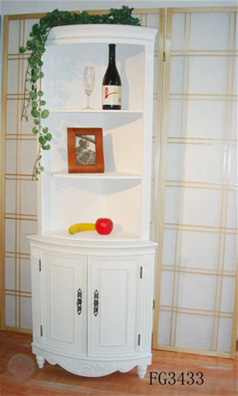 china corner cabinet oval china white corner cabinet