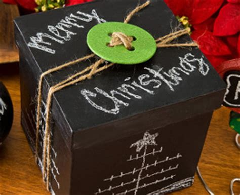 chalkboard paint ideas for gifts 12 ways to wrap your presents craft paper scissors