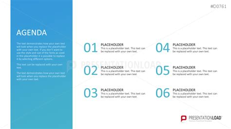 Powerpoint Agenda Template by Powerpoint Template Image Placeholder Images Powerpoint
