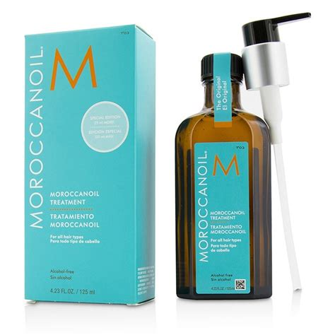 moroccanoil moroccan oil treatment for all hair types moroccanoil treatment original for all hair types