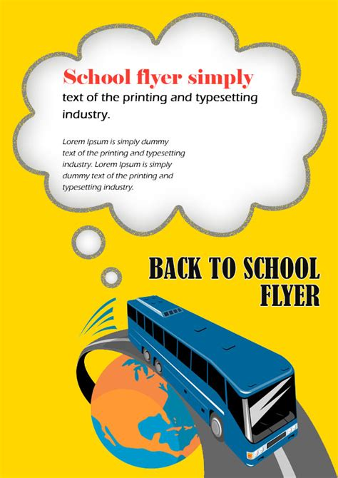 back to school flyer template 16 impressive back to school flyers in psd word ppt