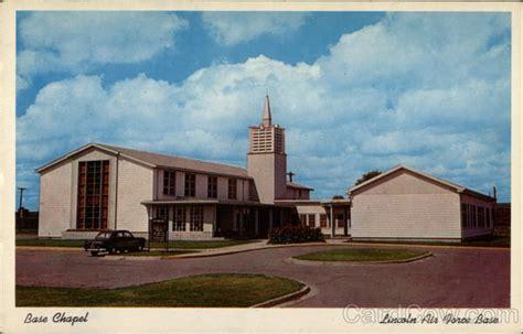 air base in lincoln nebraska base chapel lincoln air base