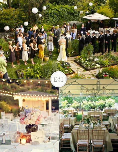 backyard wedding ideas a wedding in a backyard