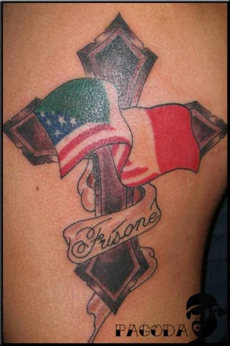 italian flag tattoos italian american picture at checkoutmyink