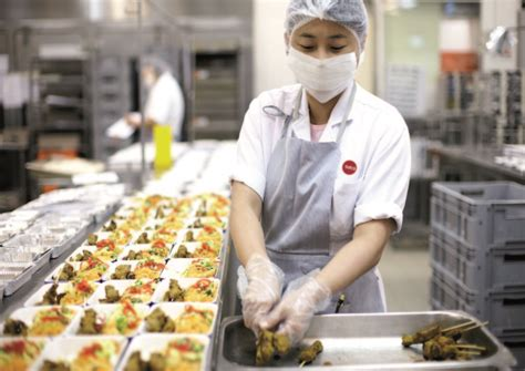 secrets of airline catering kitchens serving 100 000 meals