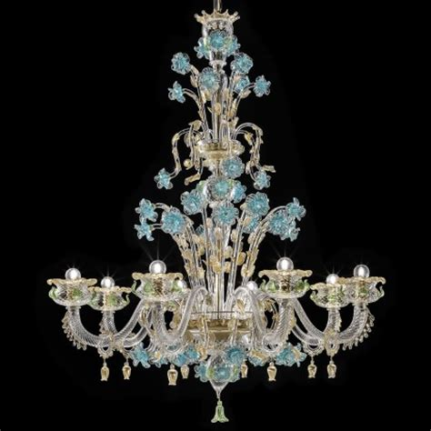 Murano Glass Chandelier Quot Celeste Quot Murano Glass Chandelier Murano Glass Chandeliers