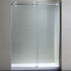 bathroom glass sliding shower doors sliding glass shower doors with frameless design lgilab
