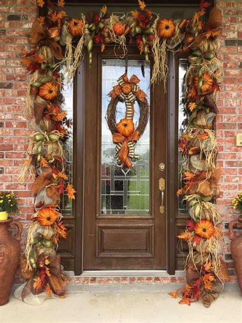 thanksgiving door garland diy ideas