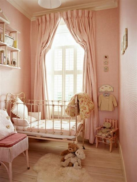 Decorating The Vintage Nursery Ruby Lane Blog Baby Nursery Curtains Window Treatments