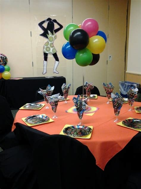 70s centerpiece ideas 70 s decorations and celebrations