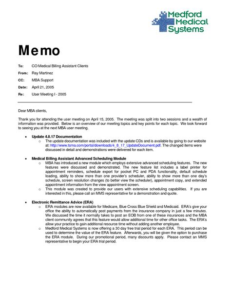 how to write a memo template 9 best images of memo format with cc sle employee