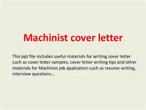 cnc machinist cover letter machinist cover letter