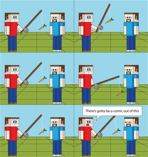 Turning A Carrot Into A Stick Fishing Stick That Is by Minecraft 29 By T 3000 On Deviantart