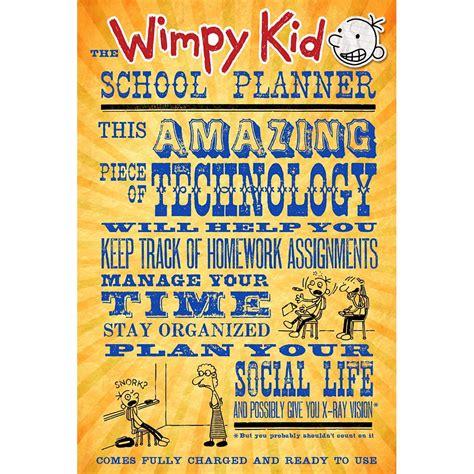 The Wimpy Kid School Planner 9781419712548 Calendars