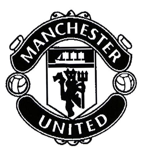 Manchester United White utd logo white www imgkid the image kid has it