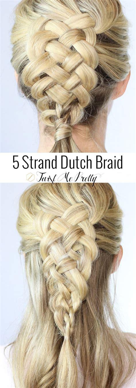 Written Instructions For 5 Strand Dutch Braid | written instructions for 5 strand dutch braid 5 strand