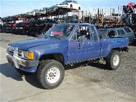 87 Toyota Parts 87 Toyota Truck Parts