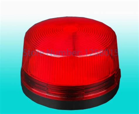 Mini Red Strobe Siren Indoor Outdoor Wired Alarm Siren Strobe Light Outdoor