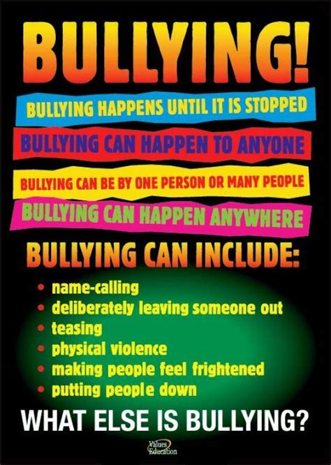 The 25 Best Bullying Posters Ideas On Pinterest Rude Meaning Bullying And Anti Bullying Anti Bullying Flyer Template