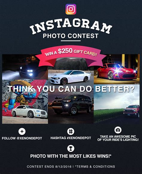design depot instagram xenondepot s instagram contest win a 250 gift certificate