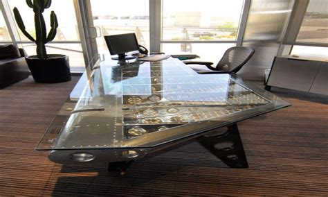 stylish desks  home office aviation style furniture aviation office desk office ideas