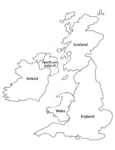 Britain Counties Outline Map by Best Photos Of Outline Map Of Map Outline Uk And Ireland Map Outline And