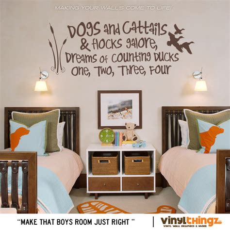 rooms to go baby crib 17 quot x 39 quot wall decals nursery fishing ducks baby childrens room to go to sleep dogs