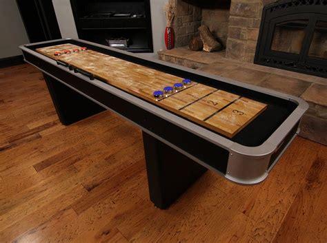 9 ft shuffleboard table shuffleboard table 9 foot accessories pucks wax indoor