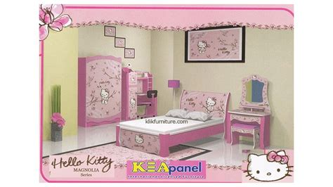 set anak hello kamar set anak hello magnolia kea panel