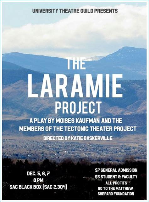 the laramie project tectonic theater project the laramie project ctx live theatre