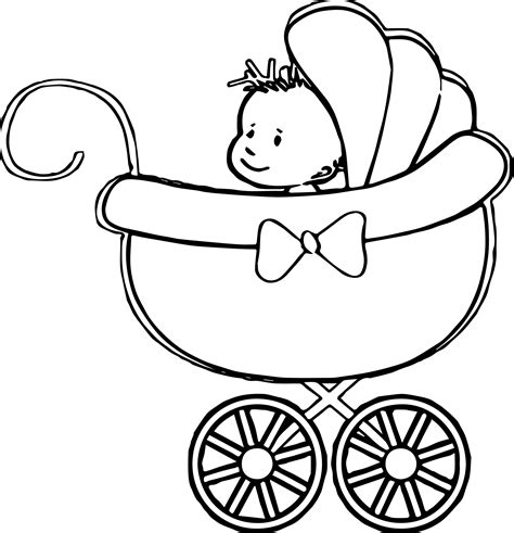 its a boy coloring page baby boy coloring page