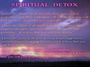 What Is A Mind And Soul Spiritual Detox by Quotes On Cleansing Mind Quotesgram