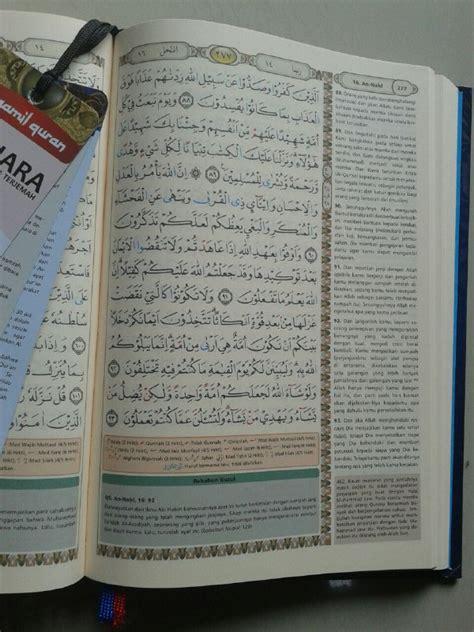 Syaamil Al Quran Bukhara A5 al qur an terjemah bukhara syamil tajwid ukuran a5