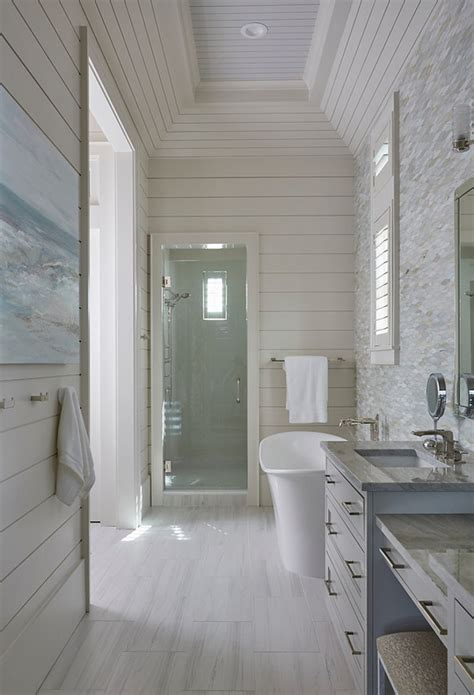 tongue and groove for bathroom walls florida beach house with new coastal design ideas home