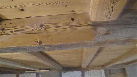alte balken reinigen trockeneisreinigung bzw trockeneistrahlen