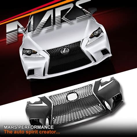 isf style grill front bumper bar for lexus isf style grill front bumper bar for lexus is250 is350 gse30r 13 17 mars performance