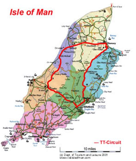 Motorrad Online Maps by Isle Of Man Race Track Map Pictures To Pin On Pinterest