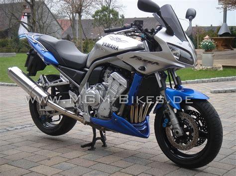 Motorrad Verkleidung Einzelabnahme by Mgm Bikes Bugspoiler Bs67 Fazer Mit Abe