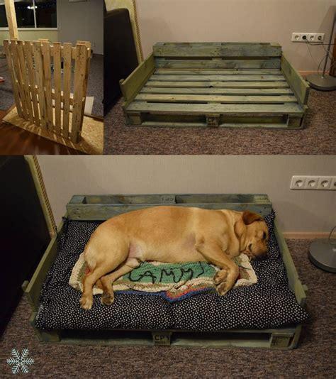 diy pallet pet bed pallet project diy bed labrador living room