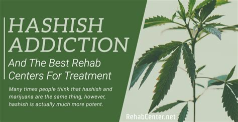 Top Detox Programs by Hashish Addiction And The Best Rehab Centers For Treatment