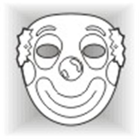 clown mask template clown masks butterfly masks and other free masks for