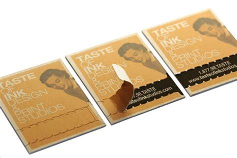 unique postcards unique business cards silk business cards taste of ink