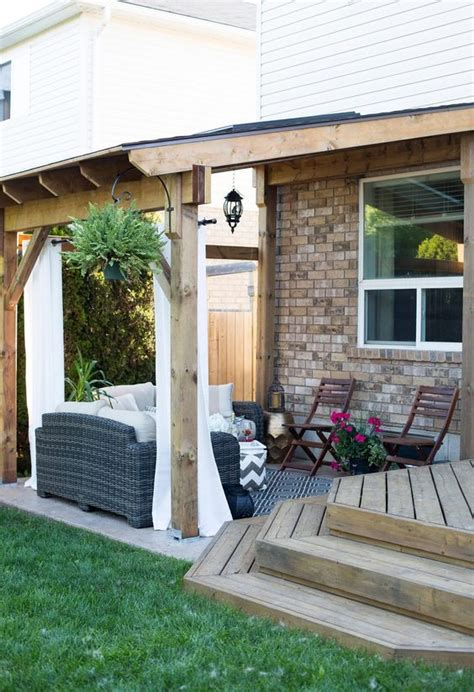 building a covered porch patio covered patios and how to build on pinterest