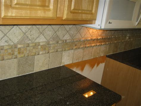 Kitchen Backsplash Tile Patterns by Tile Patterns With Tropic Brown Granite Tile
