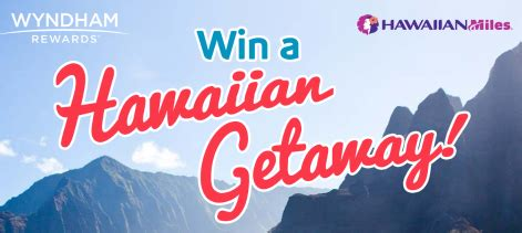 Wyndham Sweepstakes - wyndham rewards hawaiian getaway sweepstakes win a trip for 2 to hawaii